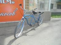 Тандем-велосипед